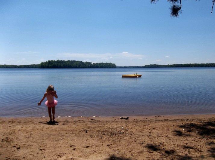 bob lake beach